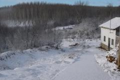 Cuesta nevada (Fotografía de Mª  Jesús García)