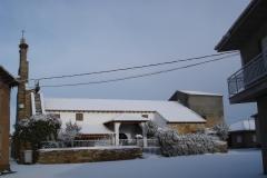 Iglesia nevada (Fotografía de Mª Jesús García)