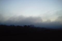 Niebla que llega