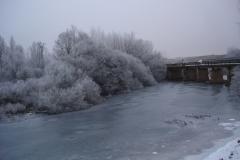 Río helado (fotografía de Cristina García)