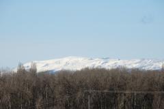 Sierra de La Cabrera cubierta de nieve (23-02-2021)