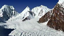 glaciares en Karakoram