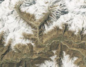 Glaciar Shishpar abril 2018