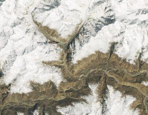 Glaciar Shishpar abril 2019
