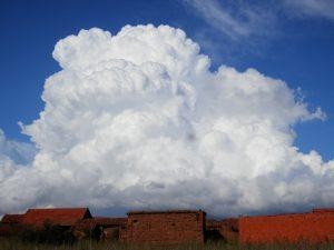 Cumulonimbo calvo sobre El Páramo